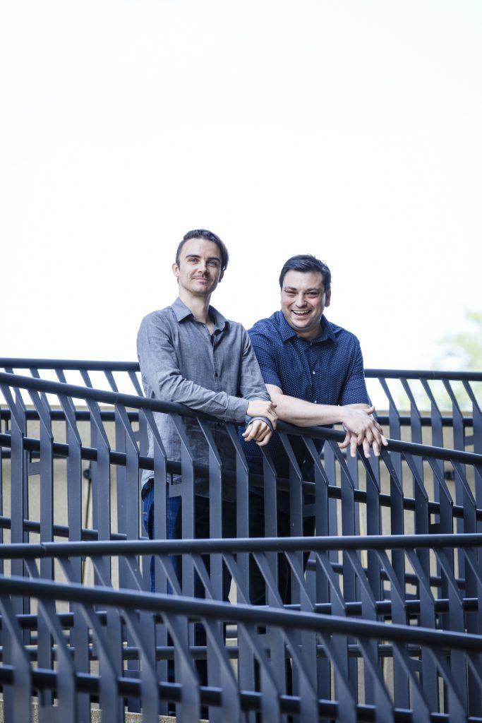 Treiben KI in öffentlichen Einrichtungen voran: Leftshift One-CEO Patrick Ratheiser und CTO Christian Weber (Foto: Hartberger)