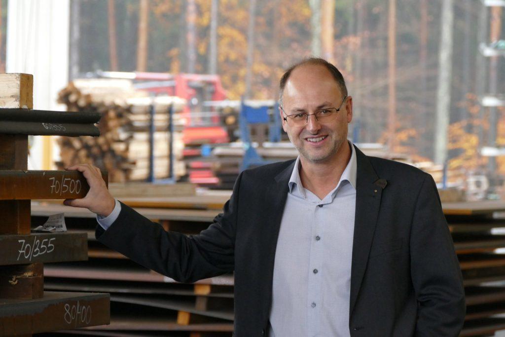 Im Jubiläumsjahr stellt Geschäftsführer Michael Winkelbauer auch die Weichen für neue Investitionen.
