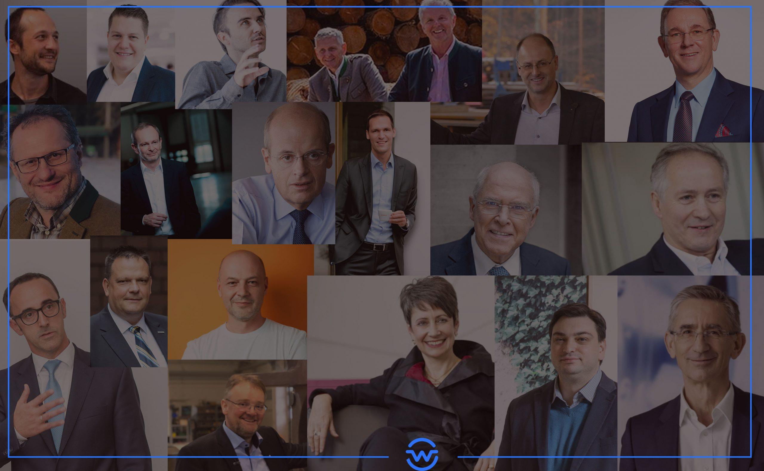 Diese 20 Manager haben die Steiermark nachhaltig geprägt.