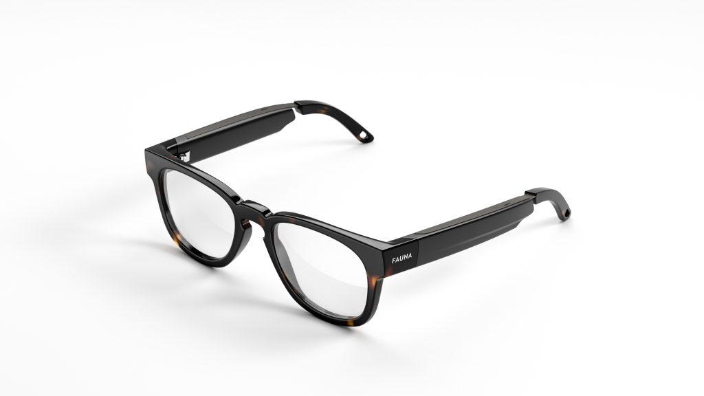 Die Brille zum Hören gibt es in vier Modellen (Foto: Fauna)