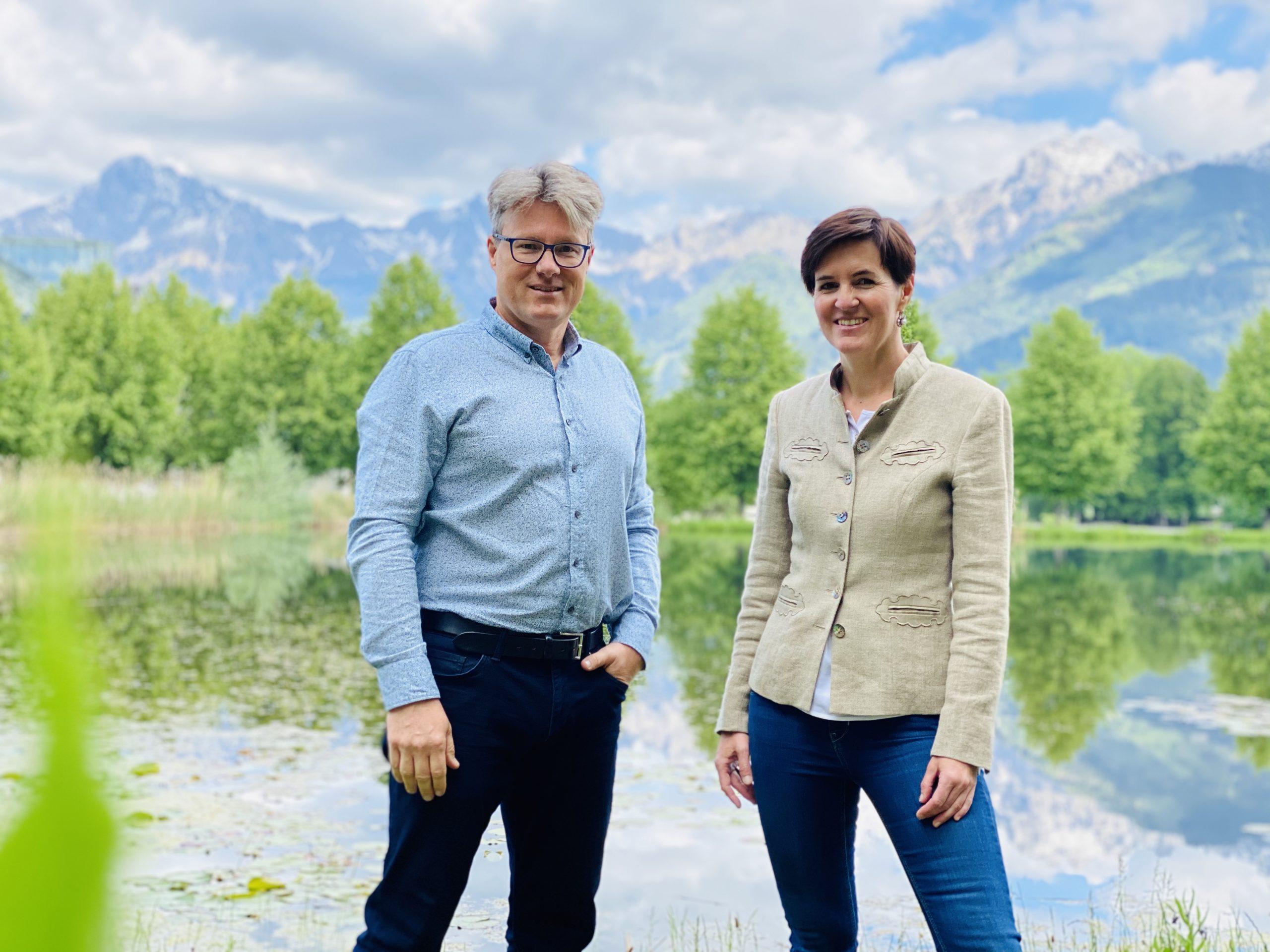 Ziehen eine positive erste Bilanz: die Mediziner Oliver und Eva Petz (Foto: CS)