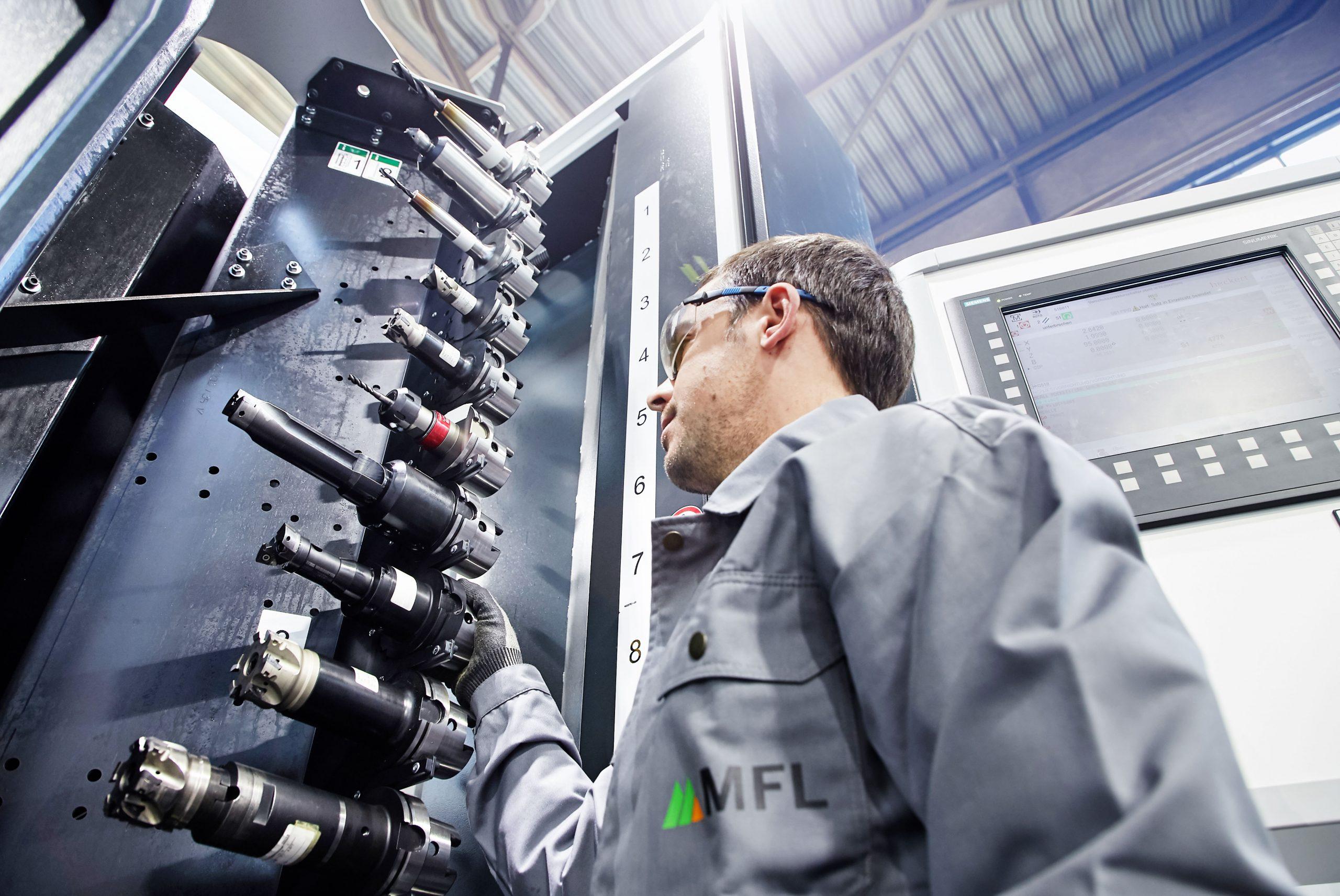 Weitere hochmoderne Präzisionswerkzeuge und CNC-Anlagen zählen zu den Investitionsvorhaben der MFL. (Foto: MFL)