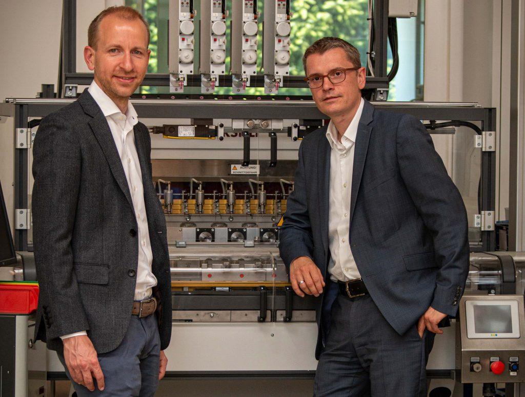 Trotzen der Krise: Hans Jürgen Ferlitsch und Christoph Kovacic von Inkol (Foto: Inkol)