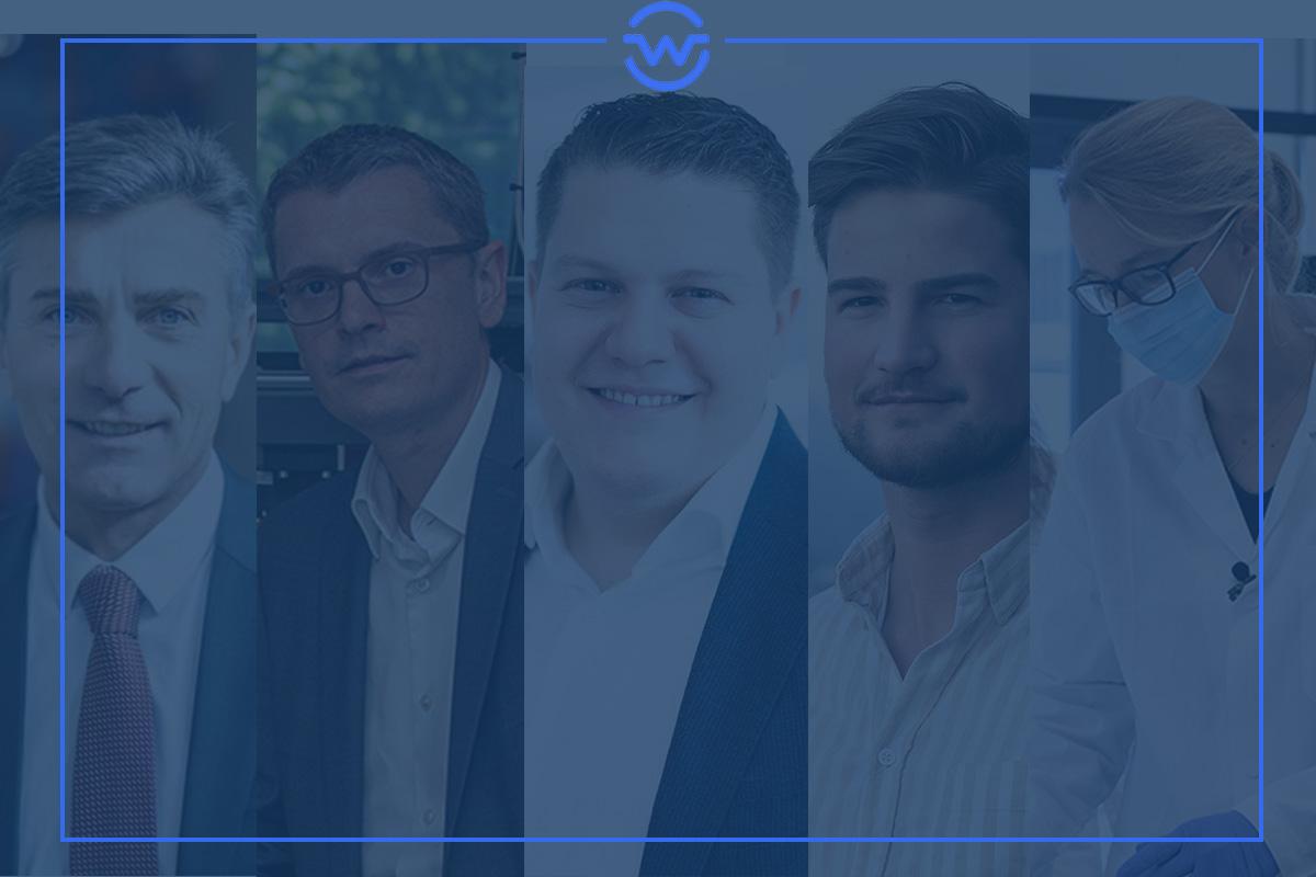 Top-Manager im März: Gerhard Haas, Christoph Kovacic, Lukas Schinko, Niklas Baumgartner und Claudia Rinnofner