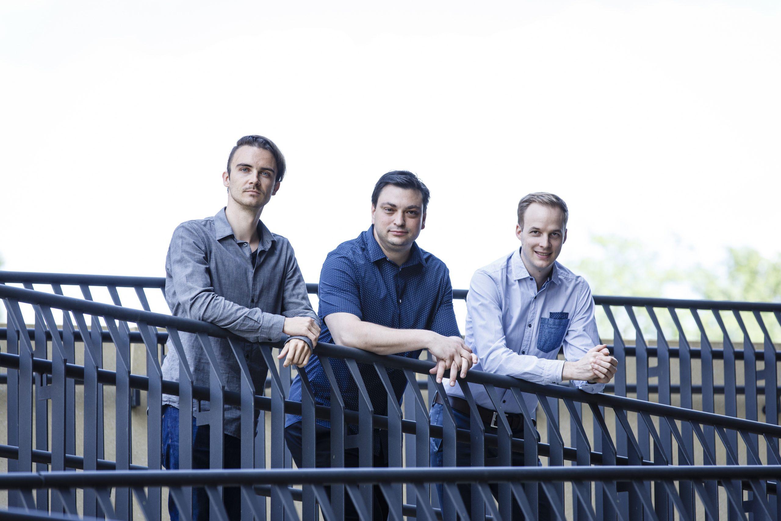 Setzen auf künstliche Intelligenz: CTO Christian Weber, CEO Patrick Ratheiser und Vice President Stefan Schmidhofer (Foto: Luef)