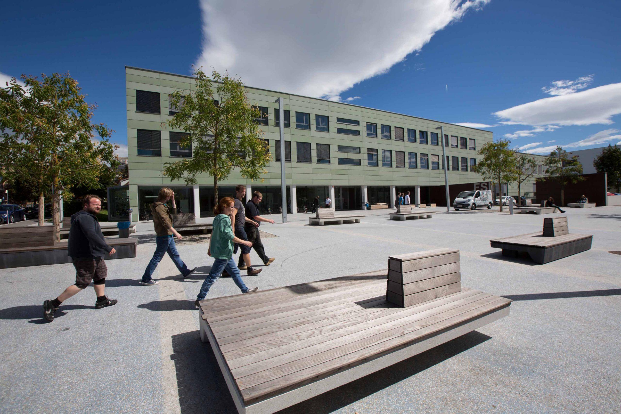 Der Campus der TU Graz in der Inffeldgasse wird internationalen Vorträge-Hotspot (Foto: Lunghammer)